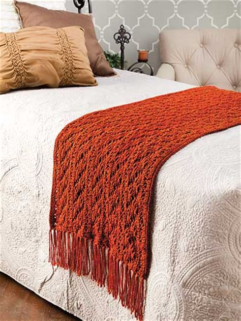 Crochet  Copper Lace Bed Scarf  #ec01104. Bathroom Vanity With Makeup Area. Entryway Ideas. Japanese Soaking Tubs. Kitchens. Arabesque Backsplash Tile. Chenille Sectional. Viking Range Hood. Tile Shop Plymouth Mn