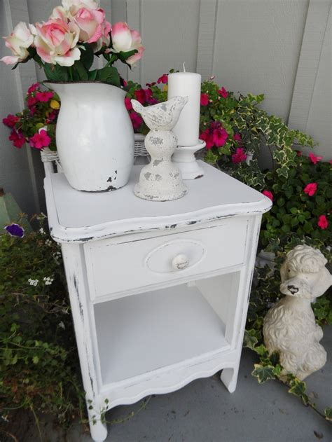 shabby chic stand 17 best images about night stands on pinterest furniture guest rooms and painted bedside tables