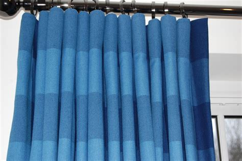 Closed Curtain by Diana Murray Interiors Close Up Of Cartridge Pleat In