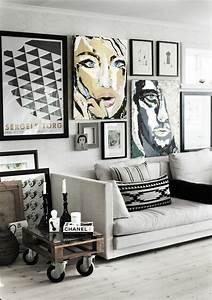 Wandgestaltung Ideen Wohnzimmer : wandgestaltung wohnzimmer 20 kreative wanddeko ideen garderobe wohnzimmer wandgestaltung ~ Yasmunasinghe.com Haus und Dekorationen