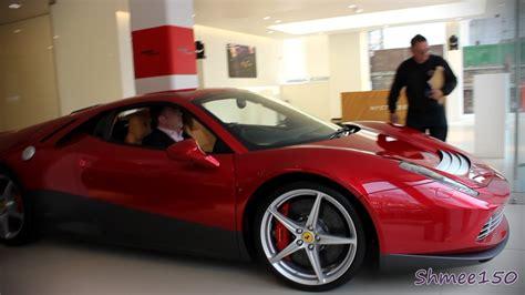 Ferrari Sp12 Ec Eric Claptons 3m 458 In London Youtube