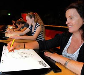 Learn to Draw at Hollywood Studios and DisneyQuest ...