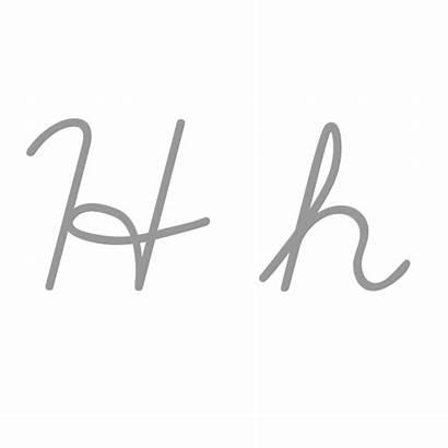 Letter Cursive Cursiva Wikipedia Letters Write Writing