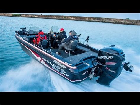 Nitro Boat Transom Problems by Nitro Boats Zv21 Performance Multi Species Fishing Boat