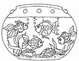 Aquarium Coloring Pages Getcolorings Pa Fish Printable sketch template