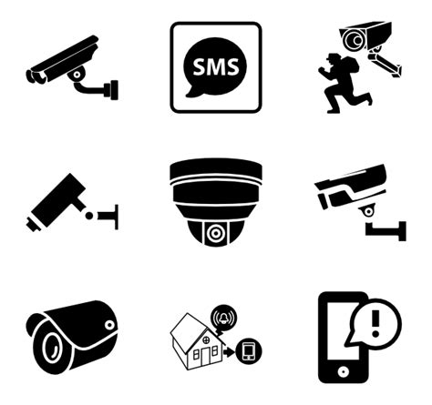 cctv icons 2 058 free vector icons