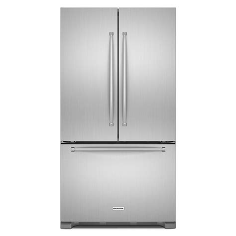 counter depth refrigerator dimensions kitchenaid shop kitchenaid 20 cu ft counter depth door