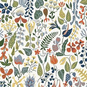 BorasTapeter Scandinavian Designer Wallpaper Herbarium By