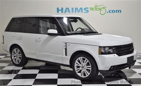 2012 Used Land Rover Range Rover 4wd 4dr Hse Lux At Haims