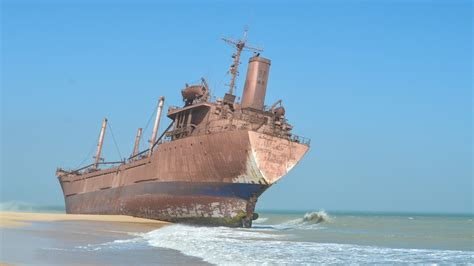 Biggest Pirate Ships In The World by Ghostly Ship Graveyards From Around The World Gizmodo