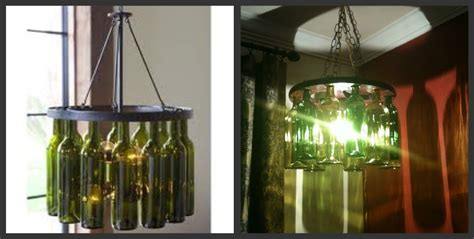 the colley d i y wine bottle chandelier