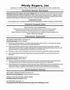 dental assistant resume sample monstercom With dental assistant resume