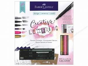 fabercastell kit creative lettering createforless With faber castell hand lettering kit