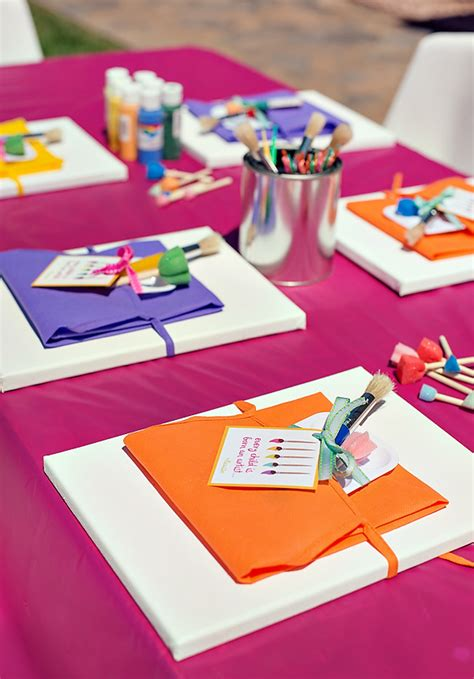 birthday party craft activities  kids sohosonnet