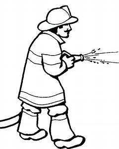 Coloring Coloring Page Fire Fighter Pages Printable