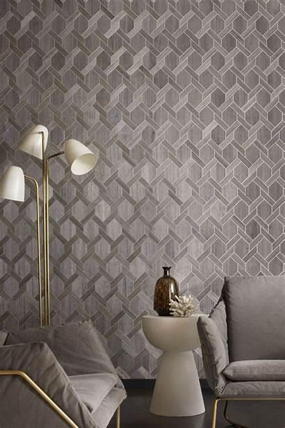Yacht Inspired Wall Wood Wallcovering Pattern Modern