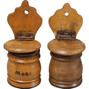 wooden kitchen canisters from carmeldollshop on ruby lane