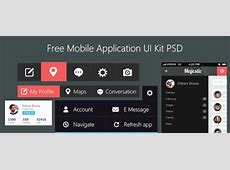 Beautiful Free Mobile Application UI Kit PSD « Freebie No 95