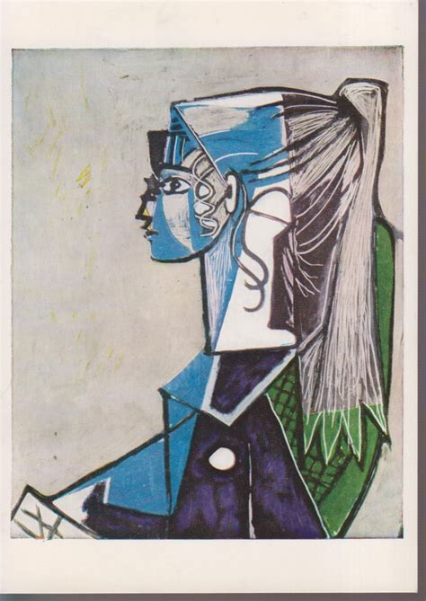PIKASO / Pablo Picasso, Portrait of a young wouman ...