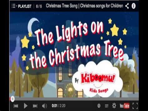 christmas tree songs for kids tree song songs for children kindergarten and maybe 1st grade