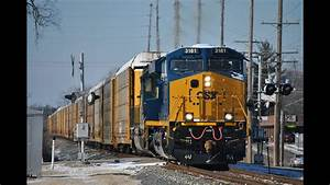 Hd  February 2015 Csx Trains On The B U0026o And St  Louis Line