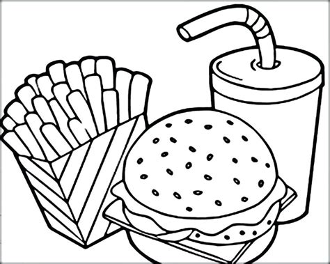 Meat Coloring Pages Arenda Stroy