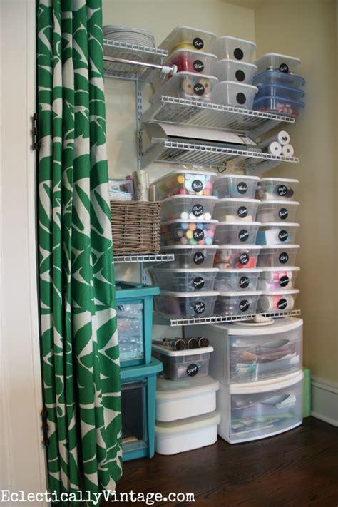 Organize Craft Closet by Craft Supply Organization Tips