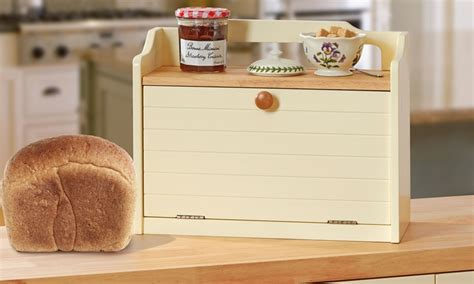 country bread kitchen up to 45 country kitchen range bread bin groupon 2688
