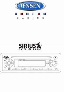 Jensen Marine Radio Msr4050g User Guide