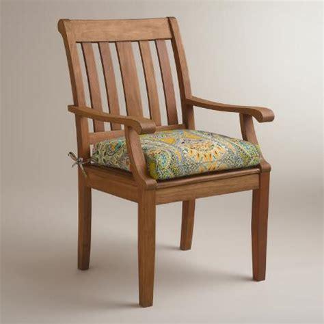 venice paisley outdoor chair cushion world market