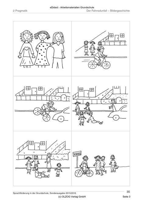 pragmatik der fahrradunfall bildergeschichte
