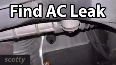 Where Is A Car by How To Quickly Find Car Ac Leaks