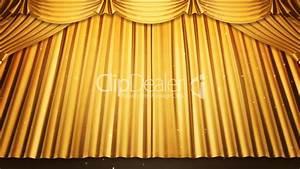stage curtain 2 ug2 royalty free video and stock footage With yellow stage curtains