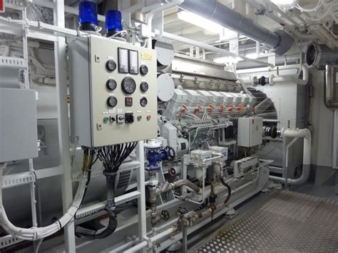 Ship Generator by Cruise Ship Engine Propulsion Fuel Consumption