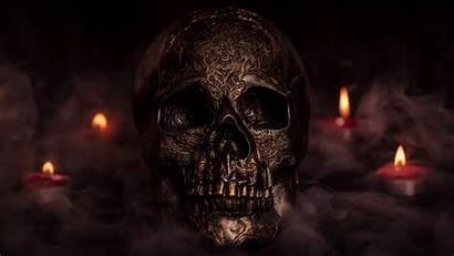 Skull Smoke 500px Candles Wallpapers Desktop Background