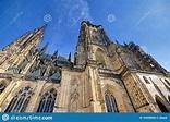 St. Vitus Cathedral Inside Of The Prague Castle In Prague ...