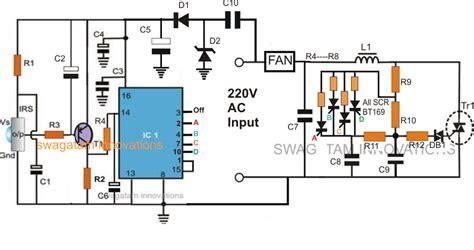 Fan Speed Control Using Remote Handset