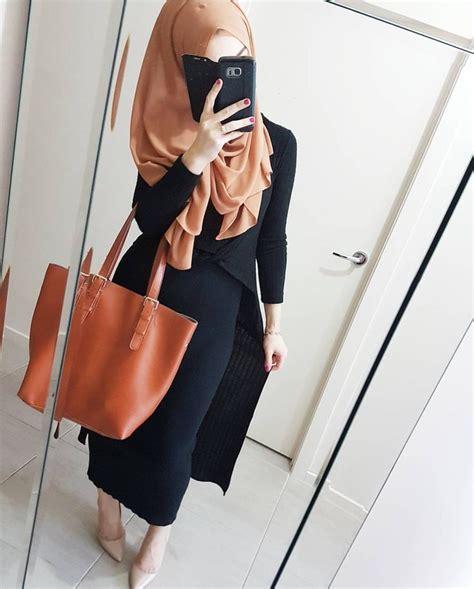 Ideas Long Skirt Hijab Pinterest Plain