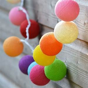 Guirlande Lumineuse Boule Rose : beaucoup d 39 id es d co avec la guirlande lumineuse boule ~ Melissatoandfro.com Idées de Décoration