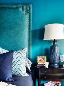Lampe Bleu Canard : chambre bleu canard et associations ou accessoires ~ Teatrodelosmanantiales.com Idées de Décoration