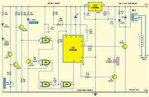 Garage Door Remote Circuit Diagram