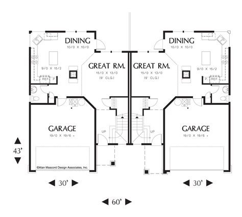 modern kitchen floor plans plans modern duplex house with open kitchen plan swedish 7703