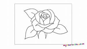 Easy To Draw Roses For Beginners | www.imgkid.com - The ...
