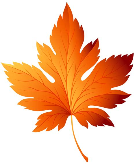 Autumn Leaf Transparent Picture Free Download | Watercolor ...