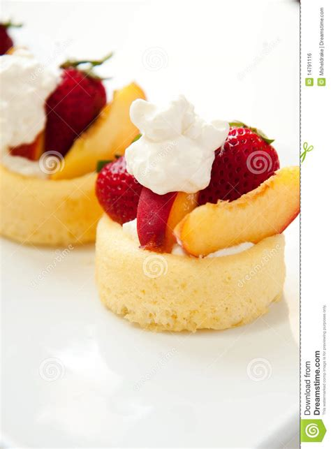 simple summer fruit dessert royalty free stock image