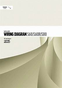 Volvo S60 S60r S80 2005 Wiring Diagrams Section 3 39