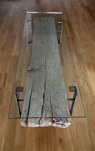 Wood and Glass Coffee Table Designs