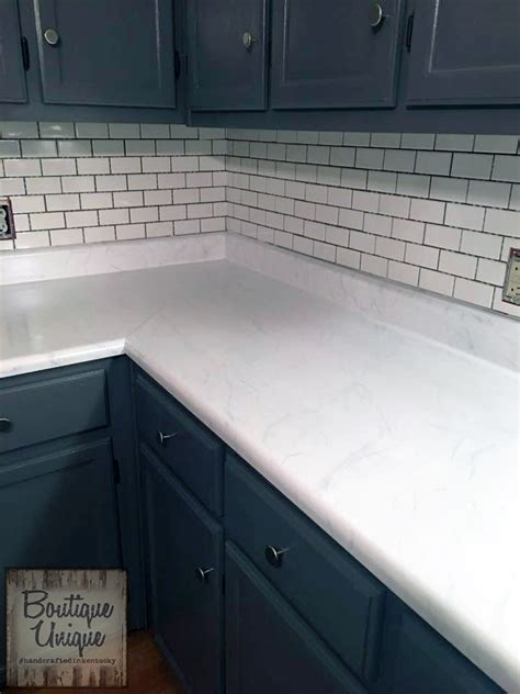 carrara marble countertop  gf milk paint general finishes design center