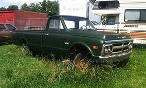 Find Used Gmc 1500 Green 6cyl Engine And 3 Speed Manual