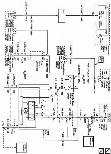 2002 Chevy Silverado 2500 Wiring Diagram by I A 2002 4x4 Silverado 2500hd With A Manual Shift